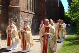 Uroczyste wprowadzenie relikwi św. Ottona  /fot.: Webmaster /