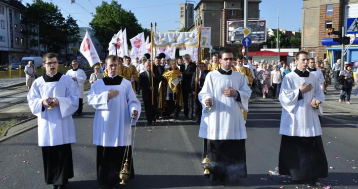 Uroczystości Najświętszego Serca Pana Jezusa w Szczecinie