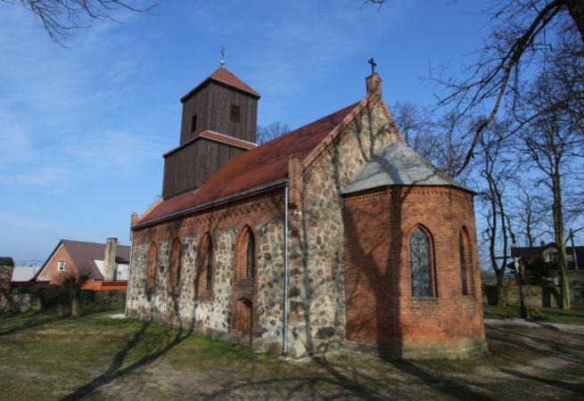 Kunowo Kościół filialny pw św.Wojciecha BM