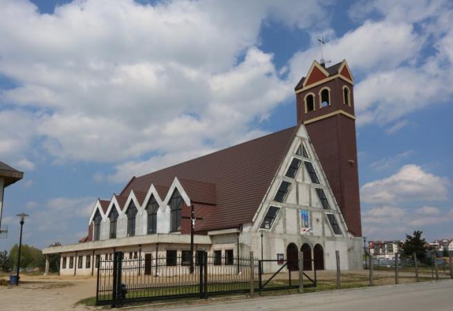 Barlinek Kościół parafialny pw św. Wojciecha BM