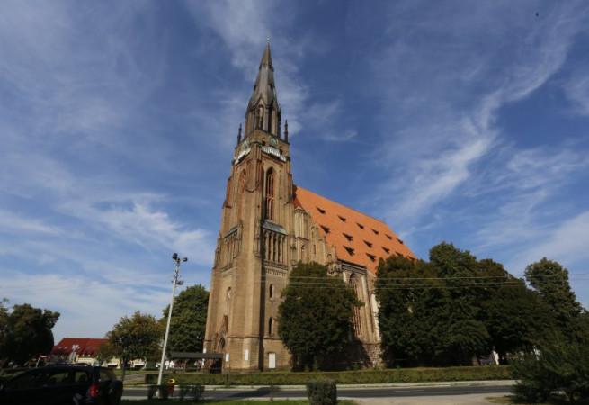 Chojna Kościół filialny pw Najś. Maryi Panny i św.Jana Chrzciciela (kościół pomocniczy)