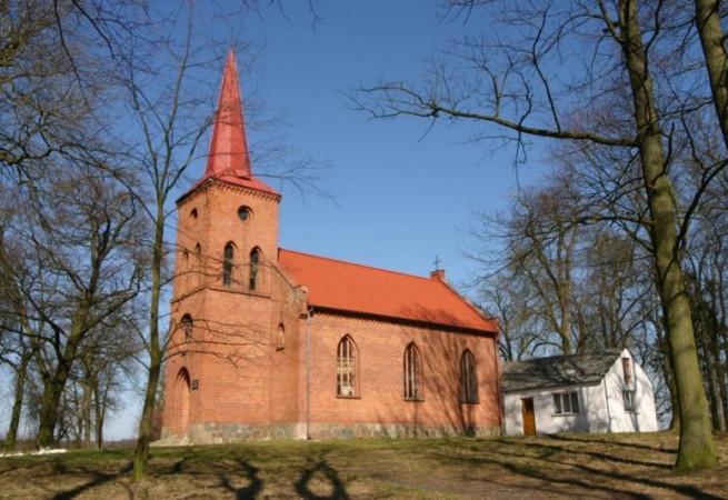 Stradzewo Kościół filialny pw MB Częstochowskiej