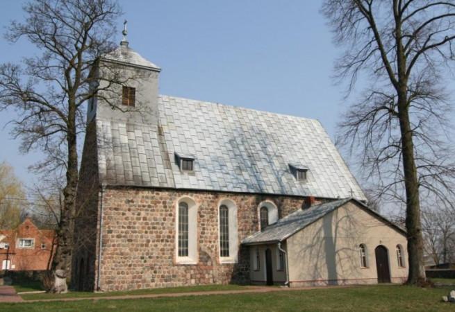 Oborzany Kościół filialny pw Świętego Krzyża