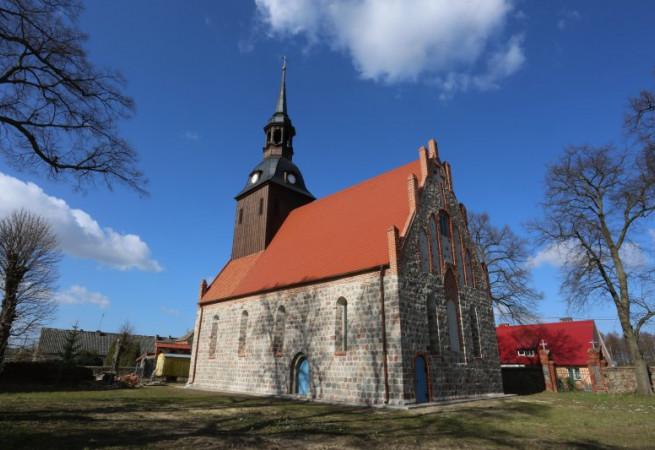 Warszyn Kościół filialny pw św.Antoniego Padewskiego