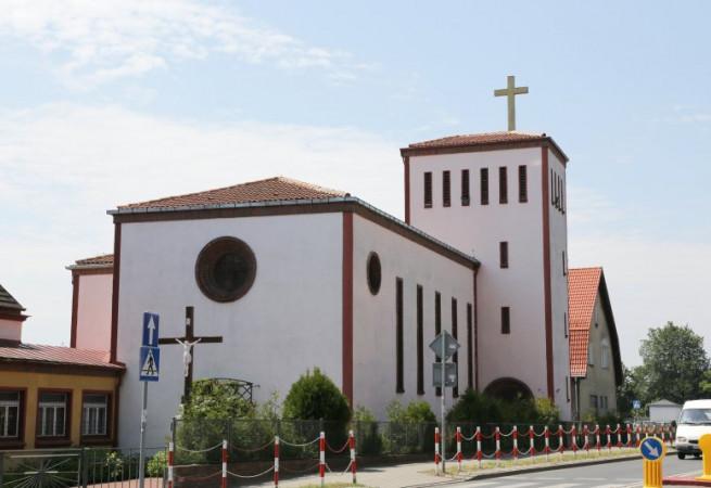 Gryfice Kościół parafialny pw Najśw. Serca Pana Jezusa