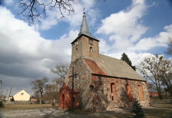 Kamienny Jaz Kościół filialny pw św.Wawrzyńca