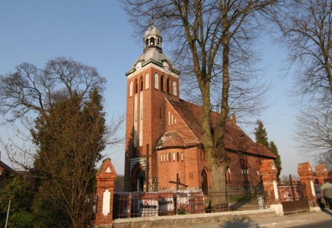 Krzęcin Kościół parafialny pw św. Jana Chrzciciela