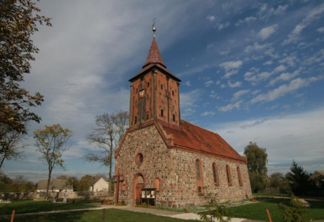 Żelechowo Kościół filialny pw Nawiedzenia NMP