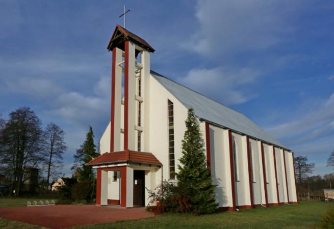Ostromice Kościół filialny pw Świętego Krzyża