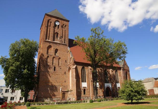 Recz Kościół parafialny pw Chrystusa Króla