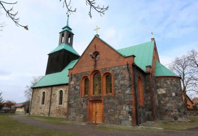 Różańsko Kościół parafialny pw św. Michała Archanioła