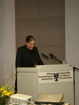 dr Berggreen-Merkel, dyrektor ministerialny - Pełnomocnik Rządu Federalnego ds. Kultury  /fot.: E. Cybulski /