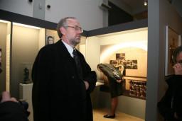 prof. dr Günter Morsch, Fundacji Brandenburskie Miejsca Pamięci - gospodarz uroczystości  /fot.: E. Cybulski /