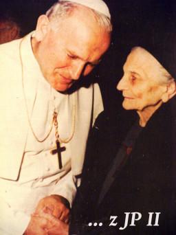 mała siostra Magdaleny Hurtin i św. Jan Paweł II