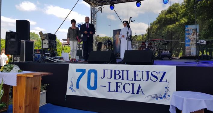 Jubileusz 70-lecia Domu Pomocy Społecznej w Moryniu