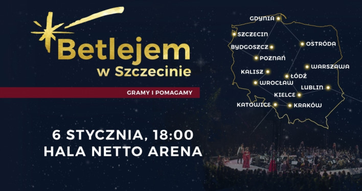 Betlejem w Szczecinie 2019 - charytatywny koncert kolęd!