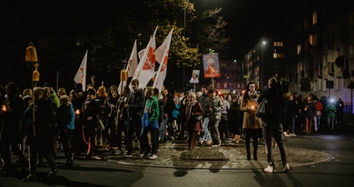 Procesja ze Świętymi ulicami Szczecina