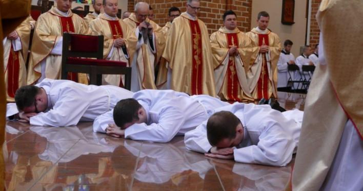Święcenia diakonatu w Bazylice Archikatedralnej w Szczecinie 2019