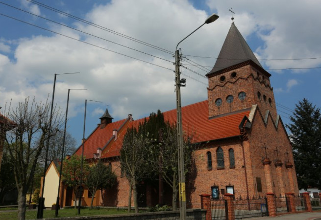 Barlinek Kościół parafialny pw św. Bonifacego