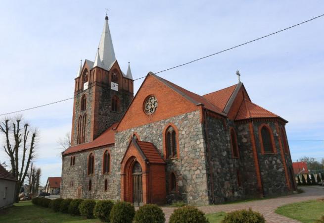 Boleszkowice Kościół parafialny pw św.Antoniego z Padwy