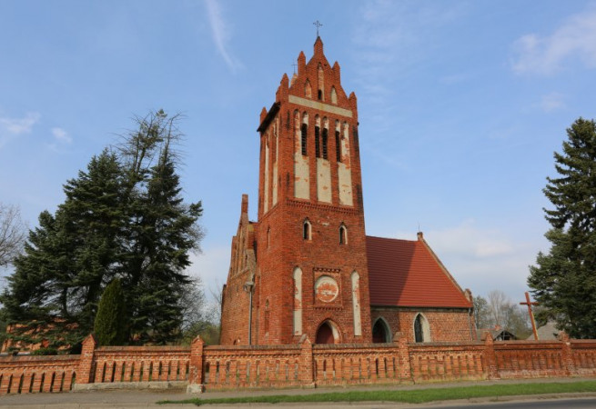 Mechowo Kościół filialny pw św. Michała Archanioła