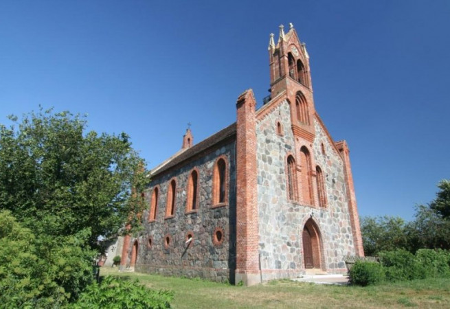 Objezierze Kościół filialny pw św.Józefa Oblubieńca NMP