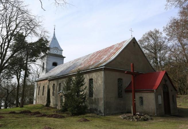 Gozdowice Kościół filialny pw Niepokalanego Poczęcia NMP