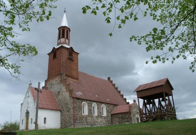 Kłosów Kościół filialny pw MB Królowej Korony Polskiej