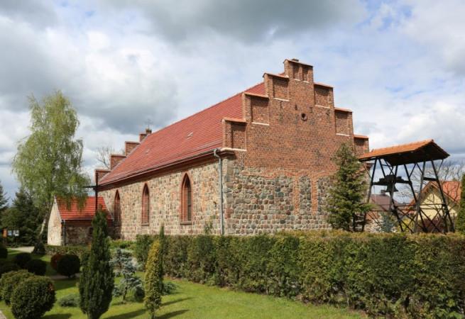Dobra Szczecińska Kościół parafialny pw Matki Bożej Królowej Świata