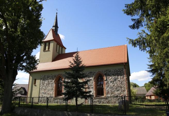 Krzemień Kościół filialny pw Wniebowzięcia NMP