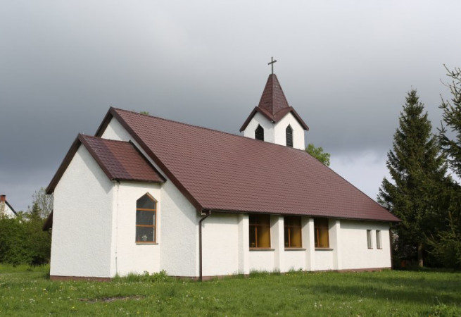 Wrzosowo Kościół filialny pw św. Franciszka z Asyżu