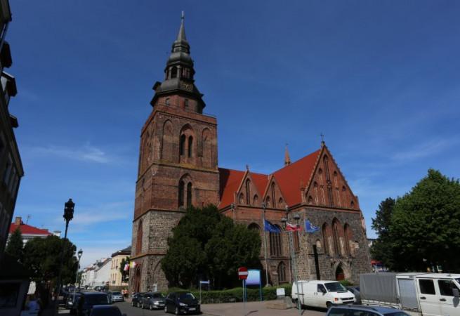 Gryfino Kościół parafialny pw Narodzenia NMP