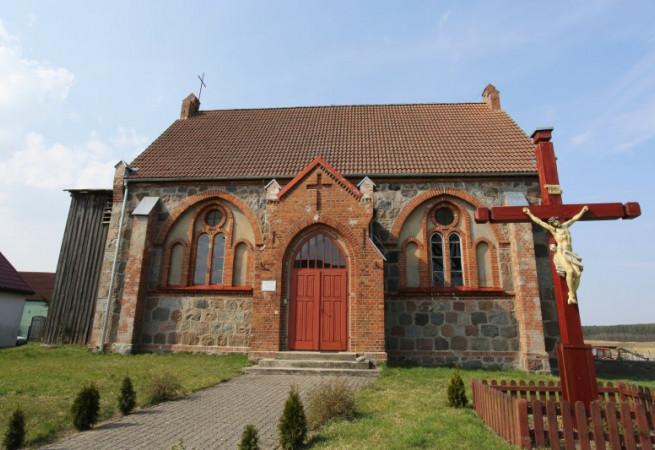 Czertyń Kościół filialny pw św. Bartłomieja