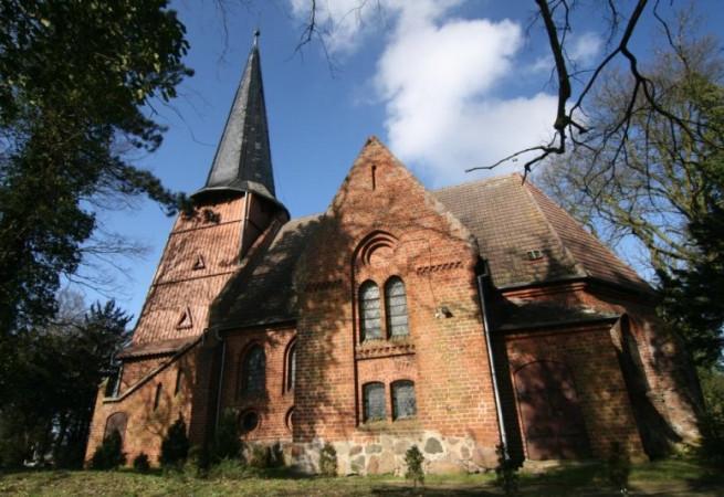Trzebieszewo Kościół filialny pw Niepokalanego Poczęcia NMP