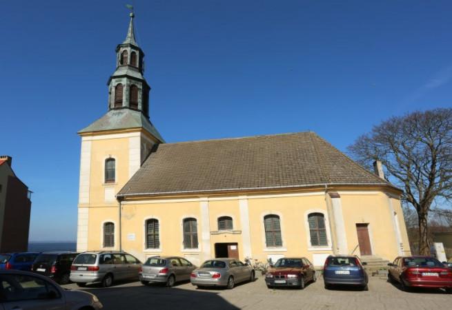 Kamień Pomorski Kościół filialny pw Wniebowzięcia NMP