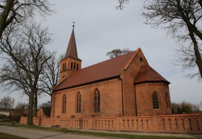 Otanów Kościół filialny pw św. Antoniego z Padwy