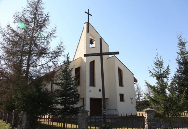 Wysoka Kamieńska Kościół filialny pw Miłosierdzia Bożego