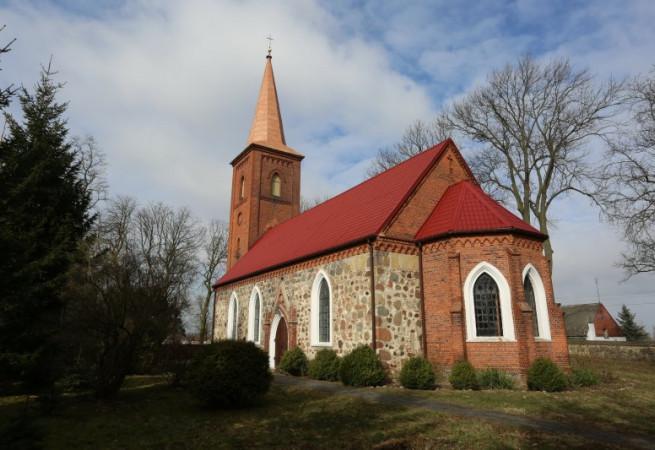Mielno Pyrzyckie Kościół filialny pw Św. Stanisława Kostki