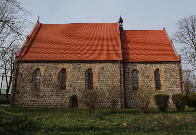 Krąpiel Kościół parafialny pw św.Maksymiliana Marii Kolbego