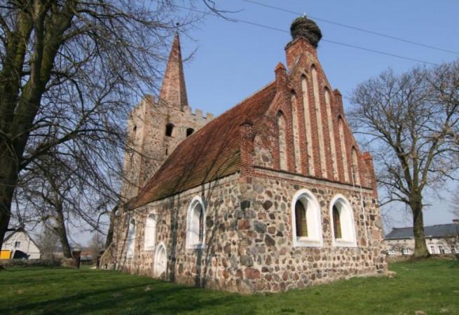 Kłodowo Kościół filialny pw Wniebowzięcia NMP