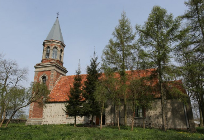 Pstrowice Kościół filialny pw św.Maksymiliana Marii Kolbego