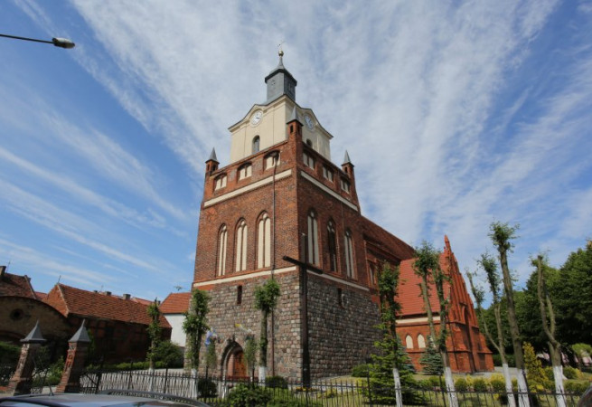 Mieszkowice Kościół parafialny pw Przemienienia Pańskiego