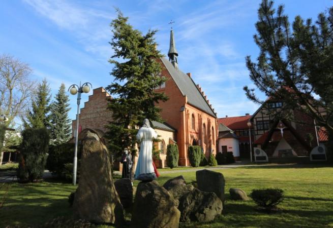 Myślibórz Kościół parafialny pw Świętego Krzyża