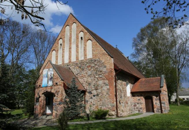 Parlino Kościół parafialny pw Miłosierdzia Bożego