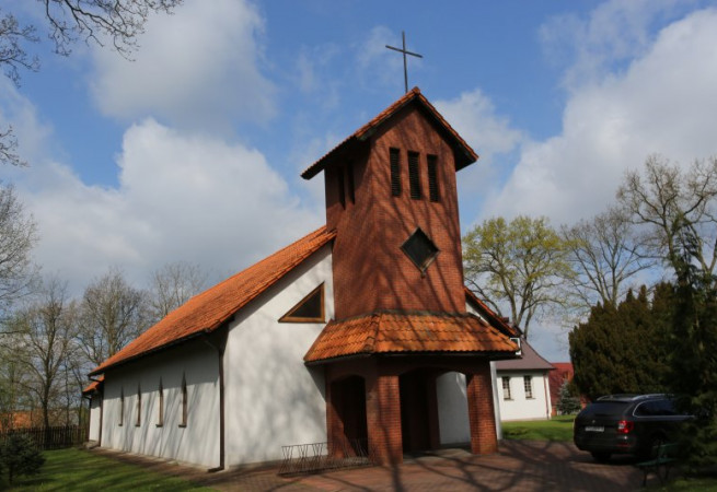 Kliniska Wielkie Kościół filialny pw bł. Michała Kozala BM