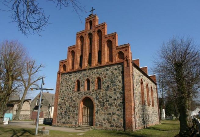 Gudzisz Kościół filialny pw Najświętszego Serca Pana Jezusa