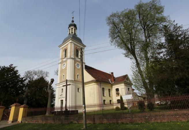 Sulimierz Kościół parafialny pw św. Wojciecha BM