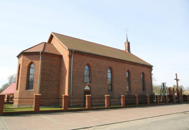 Trzygłów Kościół filialny pw św. Marii Magdaleny
