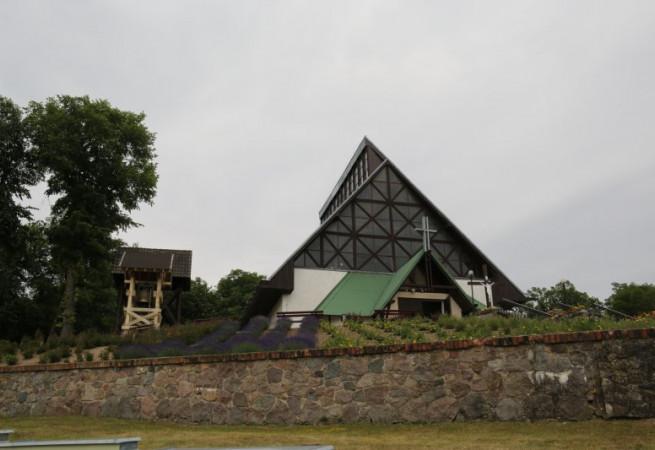 Siekierki Kościół parafialny pw MB Królowej Pokoju