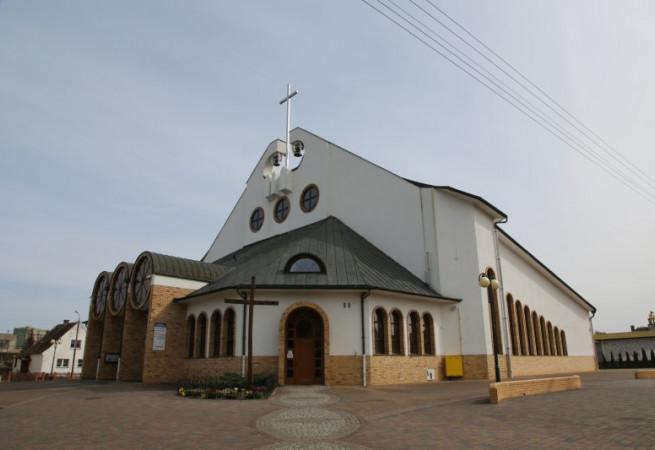 Świnoujście Kościół parafialny pw bł. Michała Kozala BM